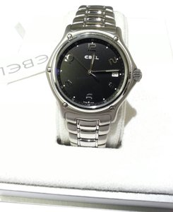 Ebel Ebel, 1911, 9187241 Men's Quartz Movement Stainless Steel Watch Black Dial