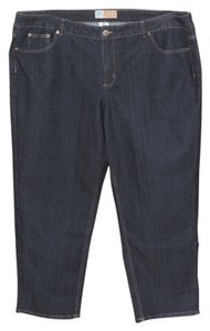 Just My Size Short Straight Leg Jeans-Dark Rinse