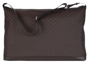 Gucci Duffle Duffle Brown Travel Bag