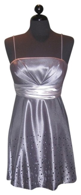 Preload https://item5.tradesy.com/images/silver-party-above-knee-cocktail-dress-size-10-m-683319-0-0.jpg?width=400&height=650