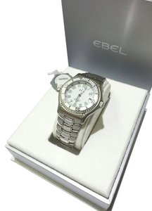 Ebel Ebel Men's Discovery Watch 9080341 Automatic Diver Stainless Steel with White Dial