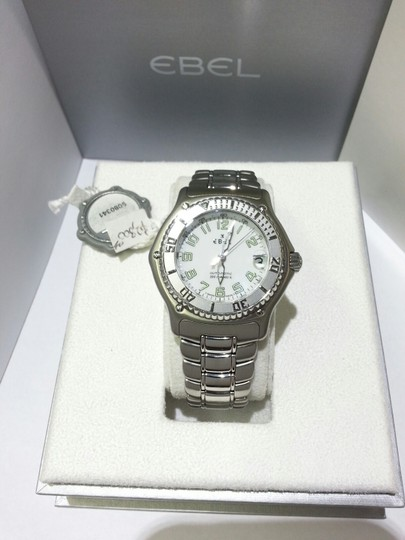 Ebel Ebel Men's Discovery Watch 9080341 Automatic Diver Stainless Steel with White Dial Image 1