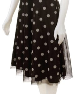 Eliza J short dress NWT Black w/White Polka Dots Halter Halter on Tradesy