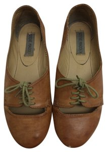 Steve Madden Vintage Casual Tan Leather Flats