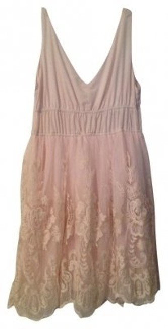 Preload https://item5.tradesy.com/images/american-rag-beigelight-pink-sleeveless-lace-sheath-above-knee-cocktail-dress-size-12-l-6834-0-0.jpg?width=400&height=650