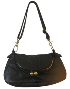 The Limited Almost New Satchel in black