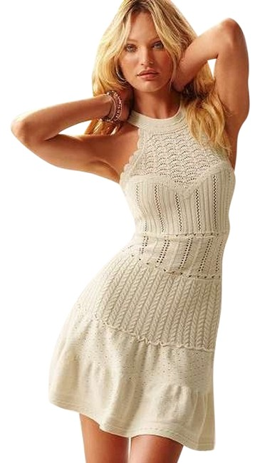 Preload https://img-static.tradesy.com/item/6834412/victoria-s-secret-ivory-high-neck-crochet-sweaterdress-above-knee-short-casual-dress-size-12-l-0-1-650-650.jpg