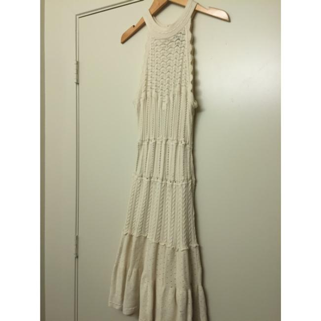 Victoria's Secret short dress Ivory Sweaterdress Textured Crochet Drop Waist Date Night on Tradesy Image 2