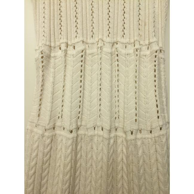 Victoria's Secret short dress Ivory Sweaterdress Textured Crochet Drop Waist Date Night on Tradesy Image 4