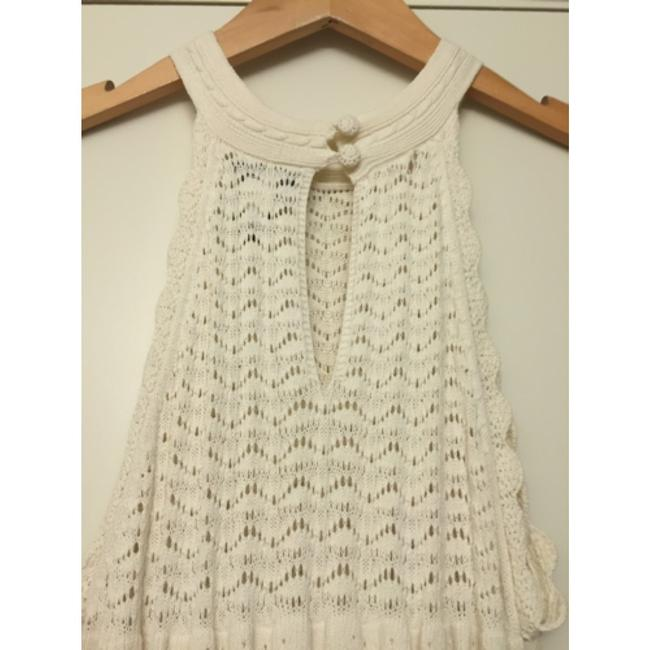 Victoria's Secret short dress Ivory Sweaterdress Textured Crochet Drop Waist Date Night on Tradesy Image 6