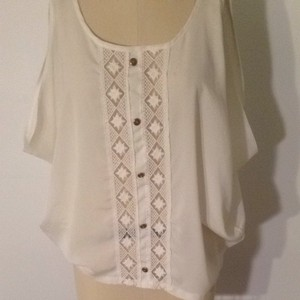 Ginger G Top White