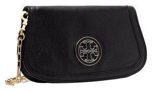 Tory Burch Leather; 100% Guaranteed Or Your Money Back! Black Clutch