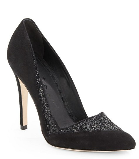 Alice + Olivia Black suede Pumps Image 3