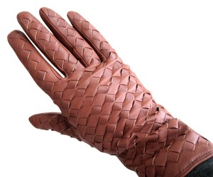 Other Woven leather gloves