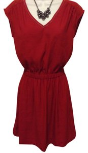 H&M short dress Red on Tradesy