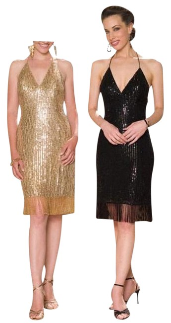 Preload https://item2.tradesy.com/images/scala-gold-sequin-bead-fringed-flapper-mid-length-cocktail-dress-size-6-s-683686-0-2.jpg?width=400&height=650