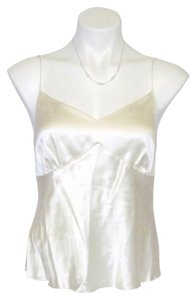 Etcetera Neckline Silk Risdarling Top Gold