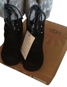 UGG Australia Black with gray Boots