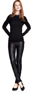 H&M Leather Leather Leather Winter Winter Leather Winter Leather Skinny Pants Black