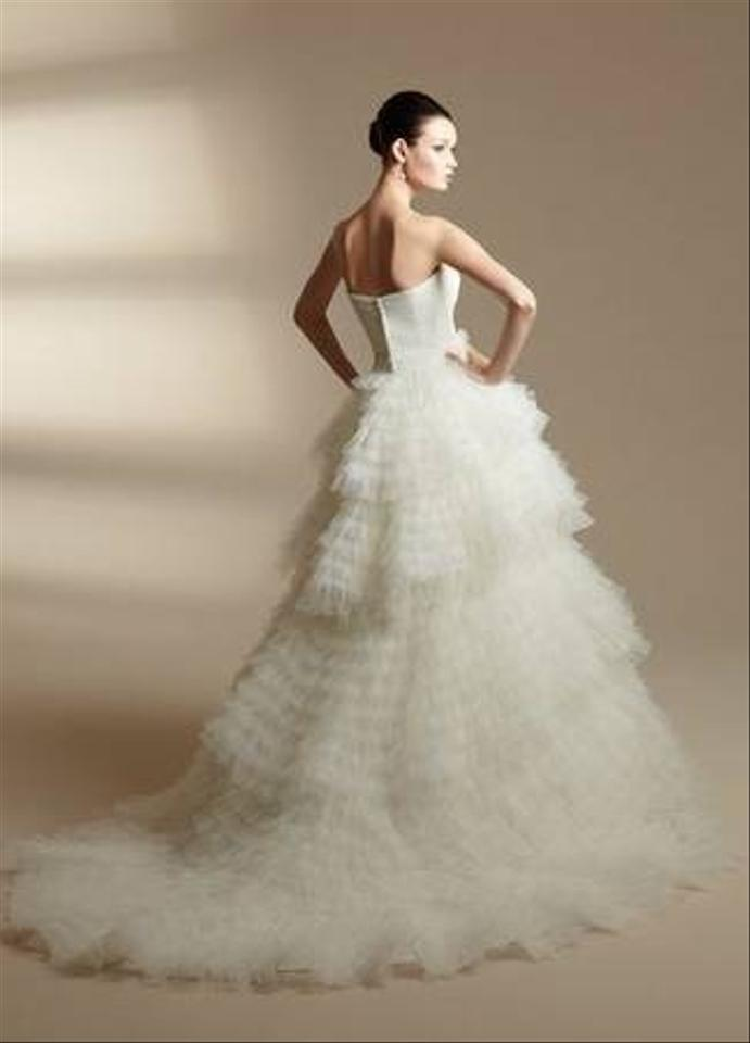 Jasmine couture bridal it transforms from a full gown to a for Jasmine couture wedding dress