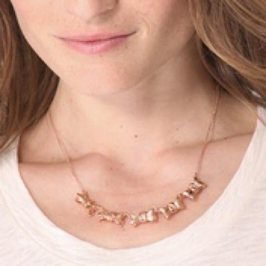 Marc by Marc Jacobs Marc by Marc Jacobs Rose Gold Bow Link Necklace