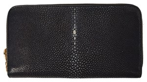 Galusha Genuine Stingray Travel Wallet/Clutch