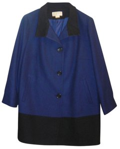 MICHAEL Michael Kors Wool Color-blocking Plus-size Pea Coat
