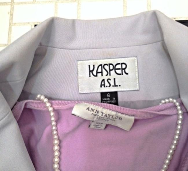 Kasper Light Grey Skirt Suit