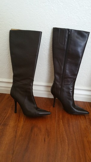 Guess By Marciano Tall Size 6.5 Dark Brown, Espressso Boots Image 1