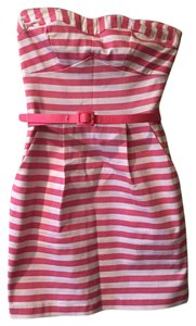 Charlotte Russe short dress pink stride on Tradesy
