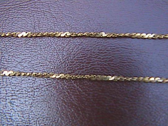 Other 12k Yellow Gold Filled Leaf Necklace Image 2