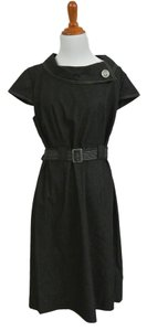 Sandra Darren short dress Black on Tradesy