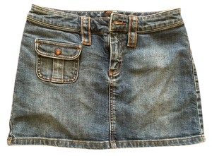 The Limited Mini Skirt Jeans