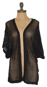 Anthropologie Crochet Knit Open Cardigan