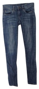 BlankNYC Skinny Acid Wash Distressed Blank Blank Niece Skinny Jeans-Light Wash