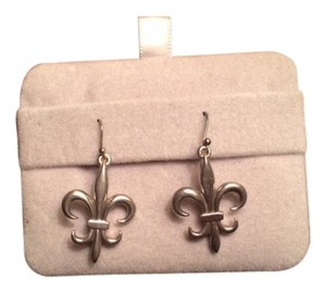 Ralph Lauren Ralph Lauren Sterling Silver 925 Fleur de Lis Earrings