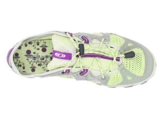 Salomon Amphibian Water Green Clay/Green Tea/Anemone Purple Athletic