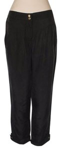 Anthropologie Cropped Pants Boxy Bemberg Capri/Cropped Denim-Light Wash
