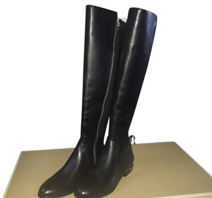 Michael Kors Leather Designer Blac Boots