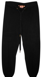 Tory Burch Athletic Pants cashmere black