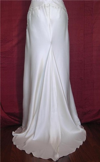 Nicole Miller Silk Beaded Elegant Bridal Gown Lj0002 Formal Wedding Dress Size 0 (XS)