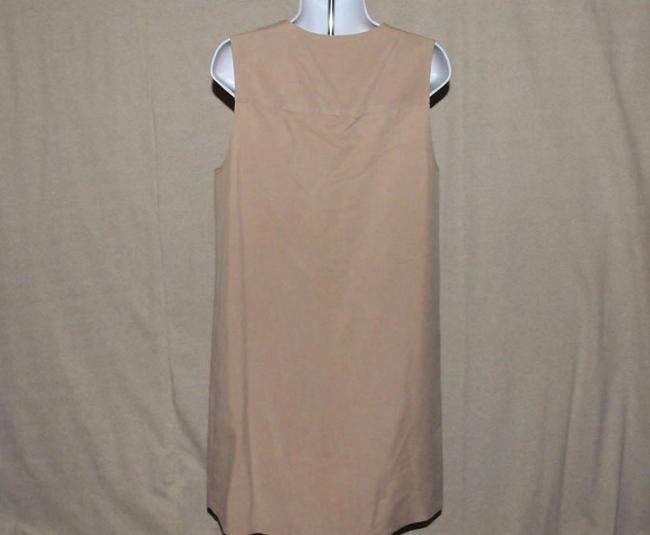 Talbots V Neckline Button Front Knee Length Size 6 Dress Image 2
