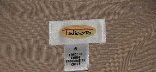 Talbots V Neckline Button Front Knee Length Size 6 Dress Image 4