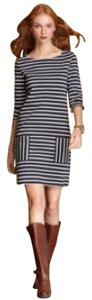 Tommy Hilfiger short dress Navy Blue and White on Tradesy