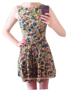 Dunnes short dress Floral on Tradesy