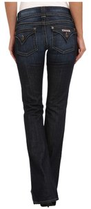 Hudson Jeans Comfortable Fitted Boot Cut Jeans-Dark Rinse