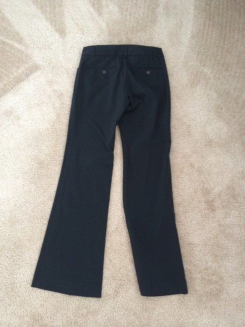 Theory Work Boot Cut Pants Black