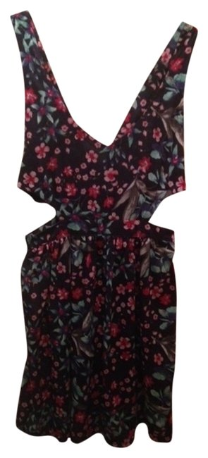 Zara short dress Floral Cut-out on Tradesy