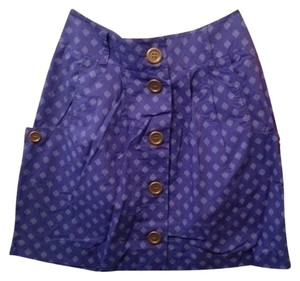 Urban Outfitters Mini Skirt Indigo