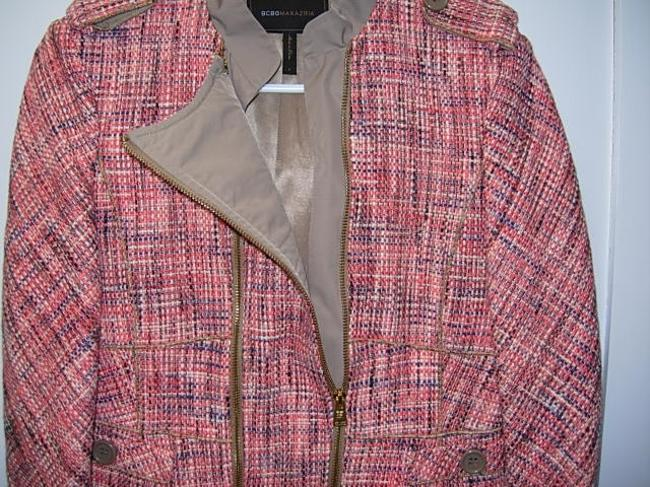 BCBGMAXAZRIA Pink and beige Jacket